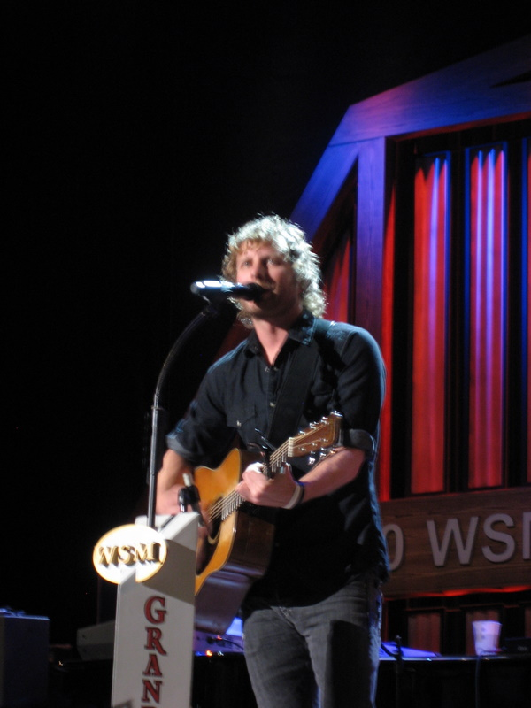 Dierks Bentley at the Grand Ole Opry
